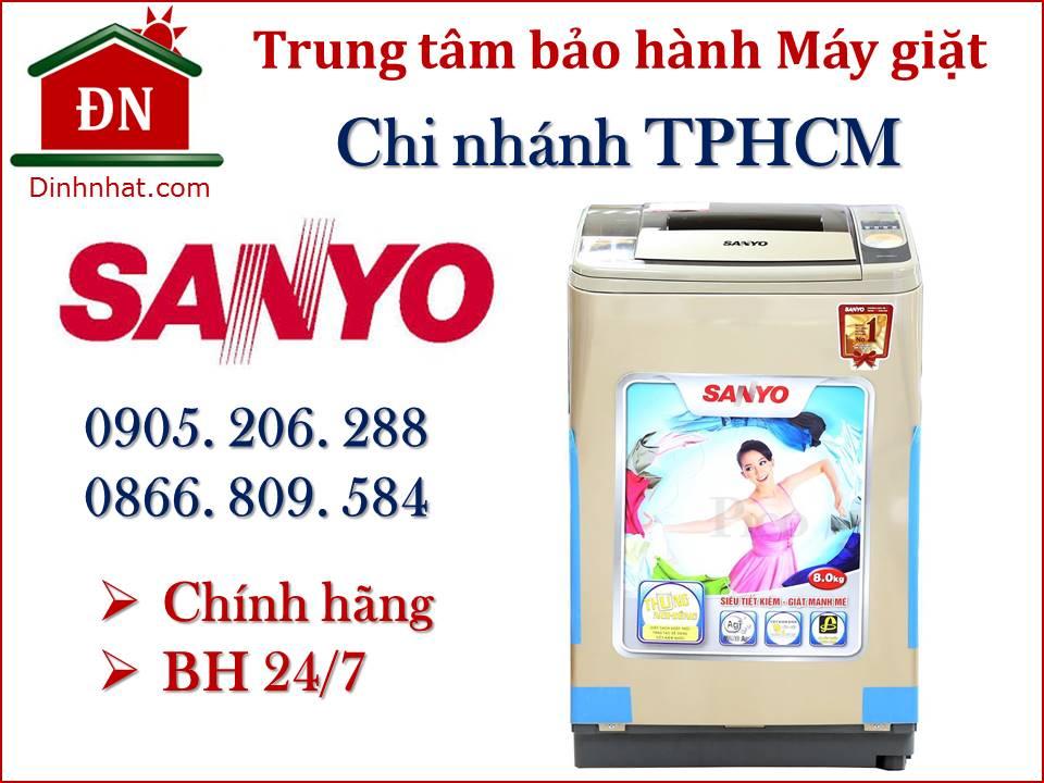 Trung tâm bảo hành máy giặt Sanyo tại Tphcm chính hãng