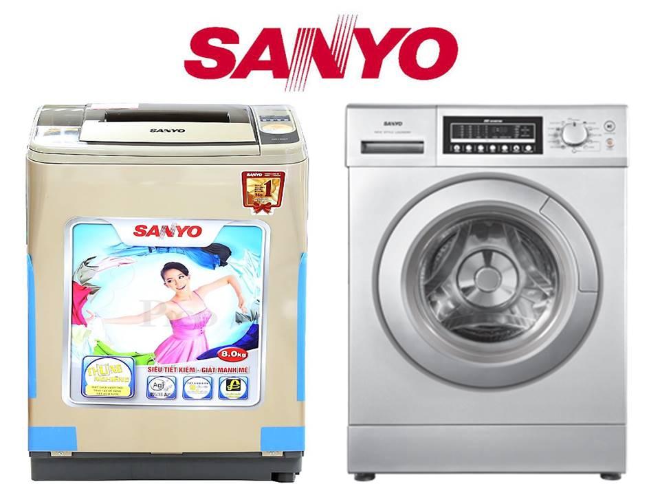 Trung tâm bảo hành máy giặt Sanyo tại Tphcm