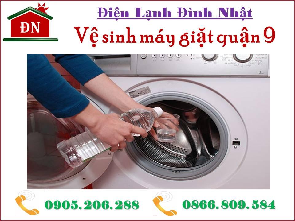 Vệ sinh máy giặt quận 9 siêu sạch
