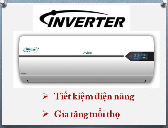 Lắp đặt máy lạnh Inverter tiết kiệm điện