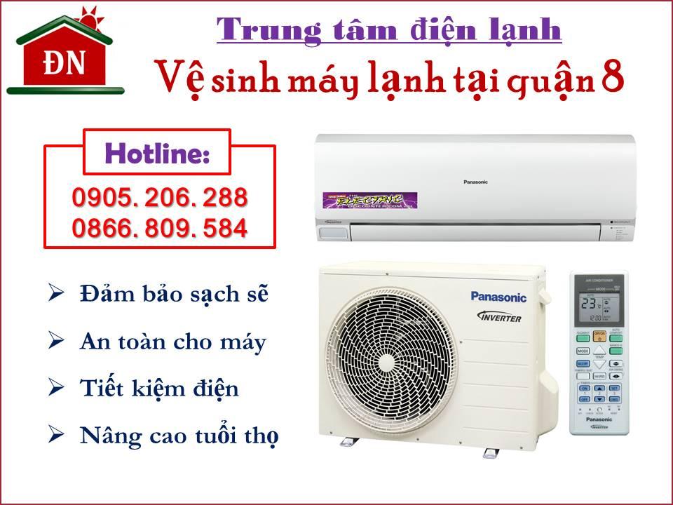 Vệ sinh máy lạnh quận 8