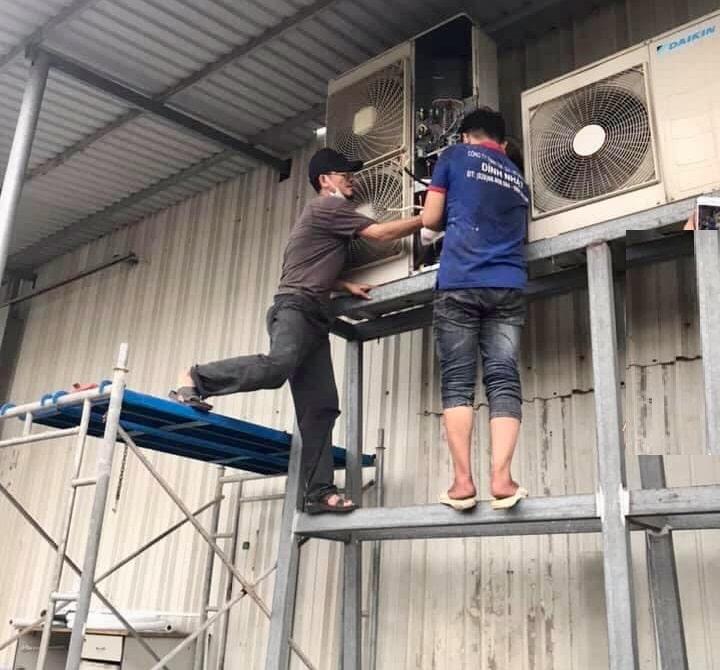 Lắp đặt máy lạnh tại quận 3