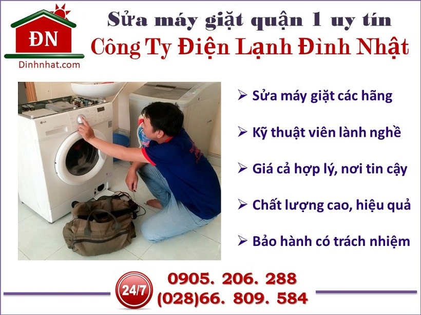 Sửa máy giặt quận 1