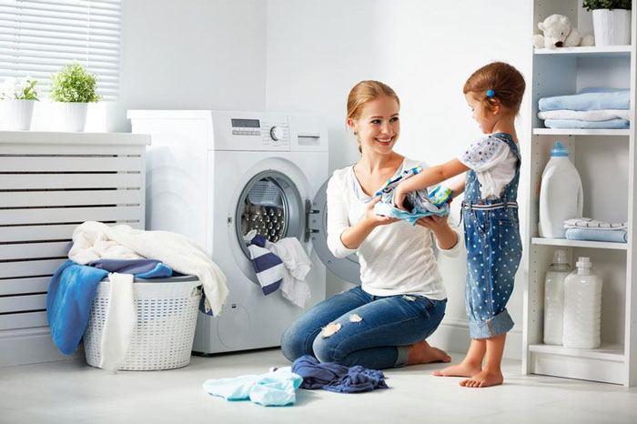 Bảo vệ máy giặt đúng cách