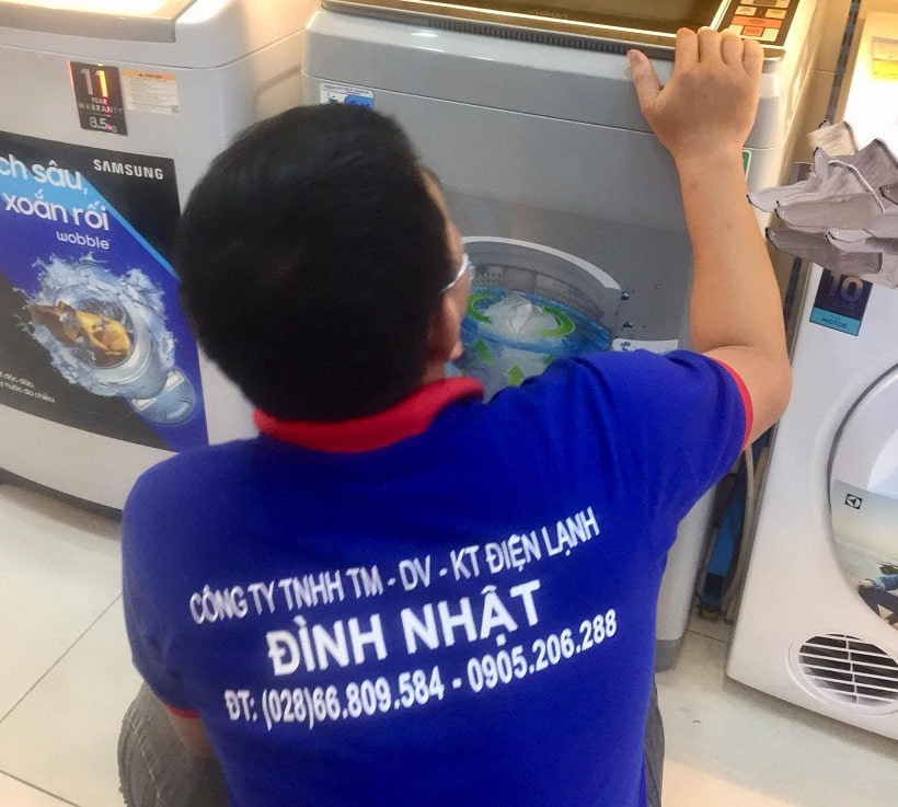 Sửa máy giặt tại quận 4