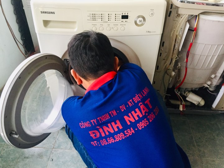 Sửa máy giặt tại quận 8