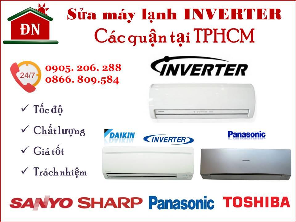 Sửa máy lạnh Inverter tại TPHCM