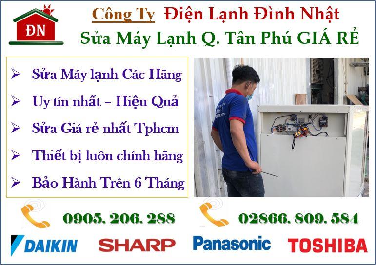 Sửa máy lạnh quận Tân Phú uy tín