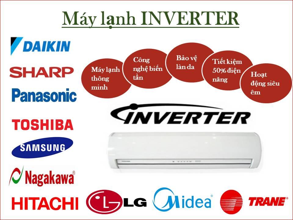 Lắp đặt máy lạnh Inverter tại TPHCM siêu tiết kiệm