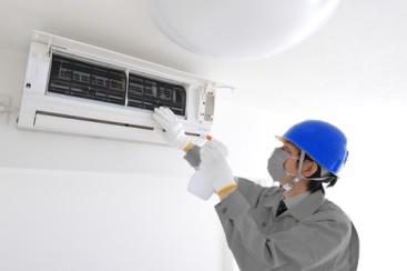 Quá trình vệ sinh máy lạnh quận 12