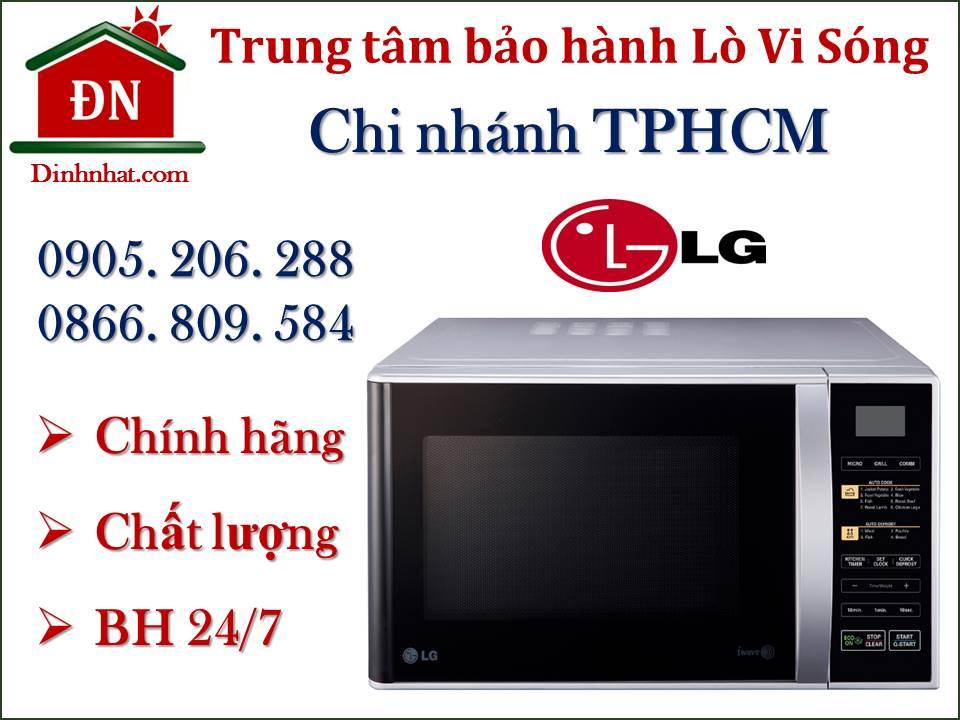Trung tâm bảo hành lò vi sóng LG tại Tphcm