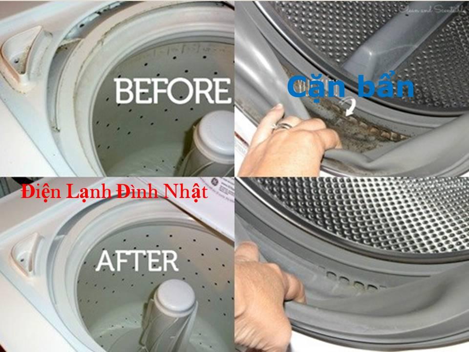 Vệ sinh máy giặt quận Bình Tân siêu sạch