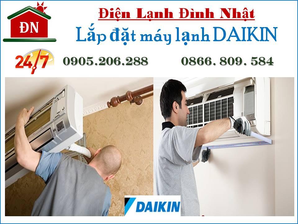 Lắp đặt máy lạnh Daikin tại TPHCM