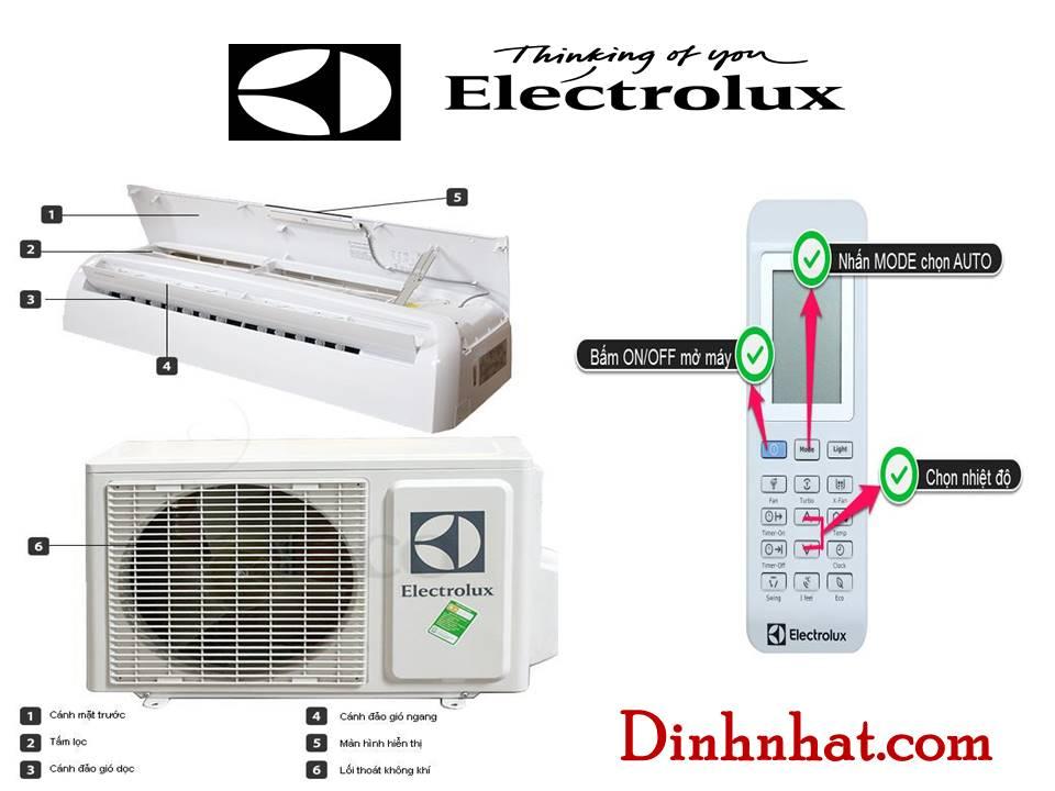 Sử dụng và bảo vệ máy lạnh Electrolux đúng cách