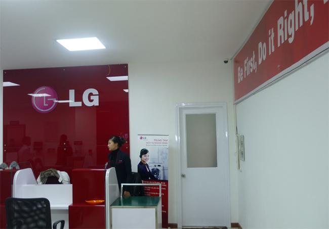 Trung tâm bảo hành máy giặt LG tại TPHCM chính hãng