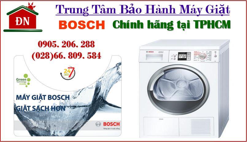 Trung tâm bảo hành máy giặt Bosch tại TPHCM