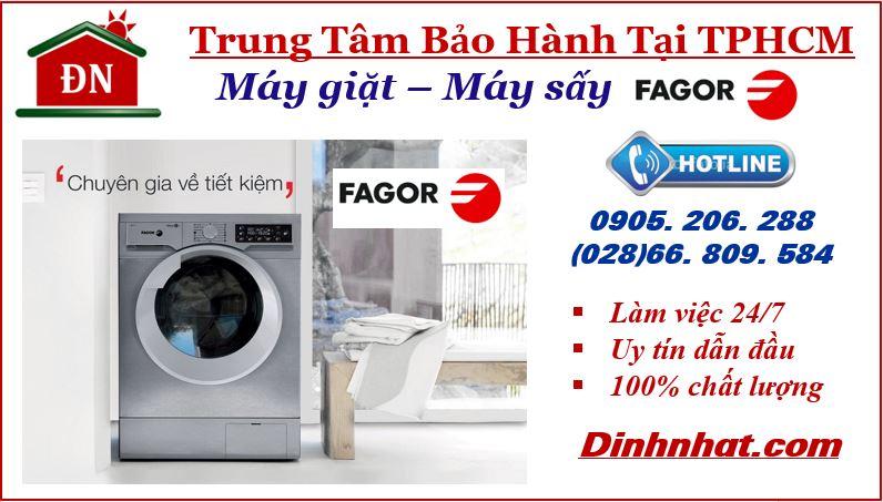 Trung tâm bảo hành máy giặt Fagor tại TPHCM