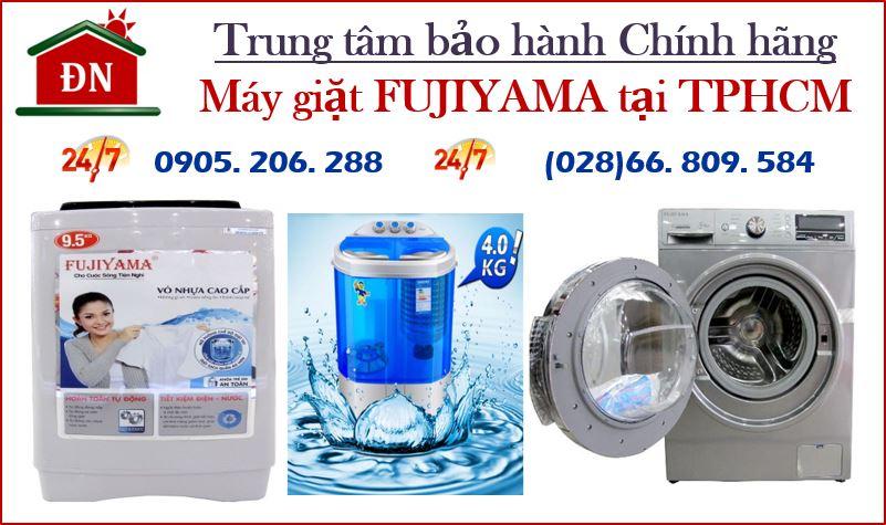 Trung tâm bảo hành máy giặt Fujiyama tại Tphcm