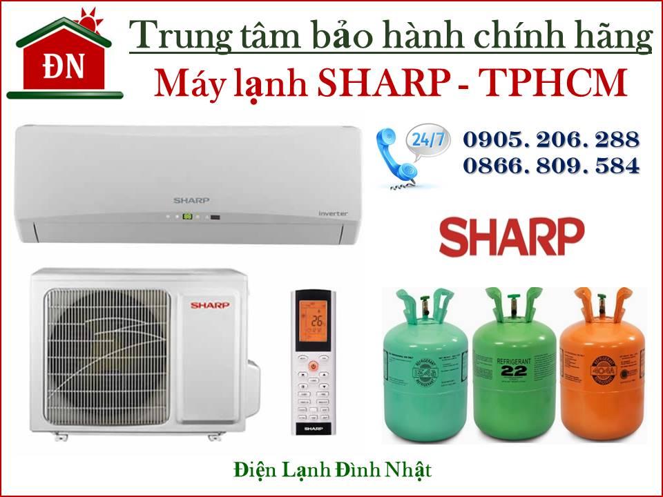 Trung tâm bảo hành máy lạnh Sharp tại Tphcm