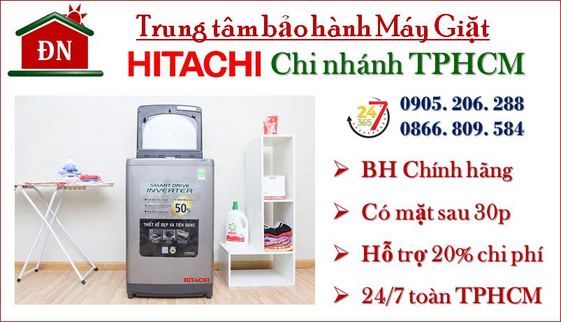 trung tâm bảo hành máy giặt hitachi tại tphcm
