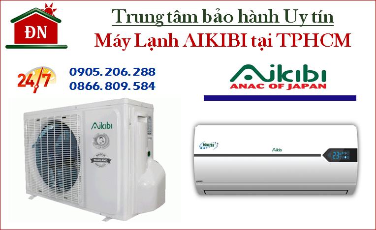 Trung tâm bảo hành máy lạnh Aikibi tại TPHCM