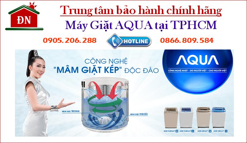 Trung tâm bảo hành máy giặt Aqua tại Tphcm