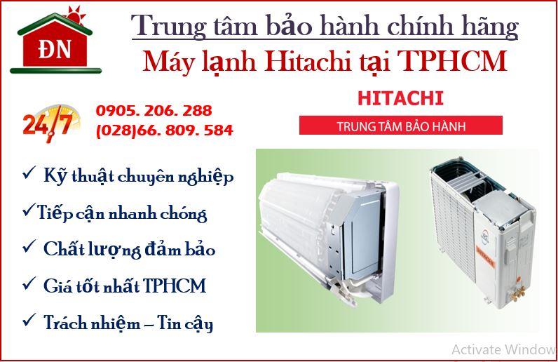 Trung tâm bảo hành máy lạnh Hitachi tại TPHCM
