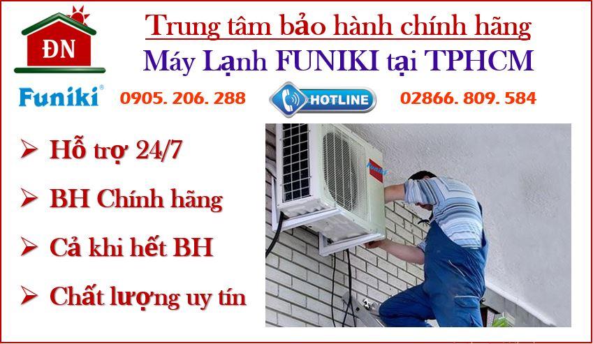 trung tâm bảo hành máy lạnh funiki tại tphcm