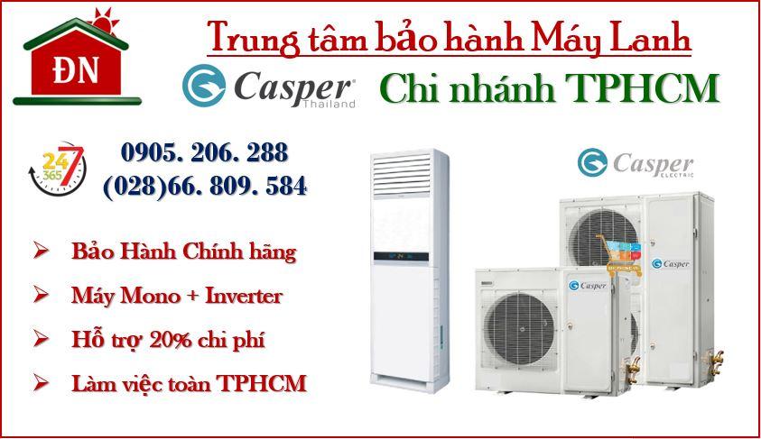 Trung tâm bảo hành máy lạnh Casper tại TPHCM