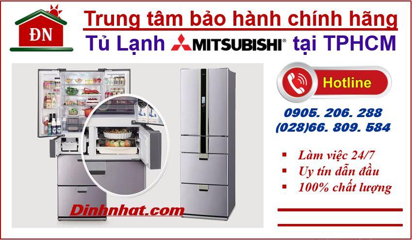 Trung tâm bảo hành tủ lạnh Mitsubishi tại Tphcm