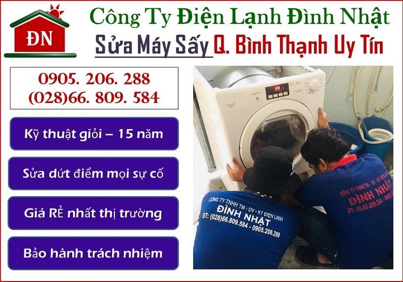 Sửa máy sấy quận Bình Thạnh Uy tín