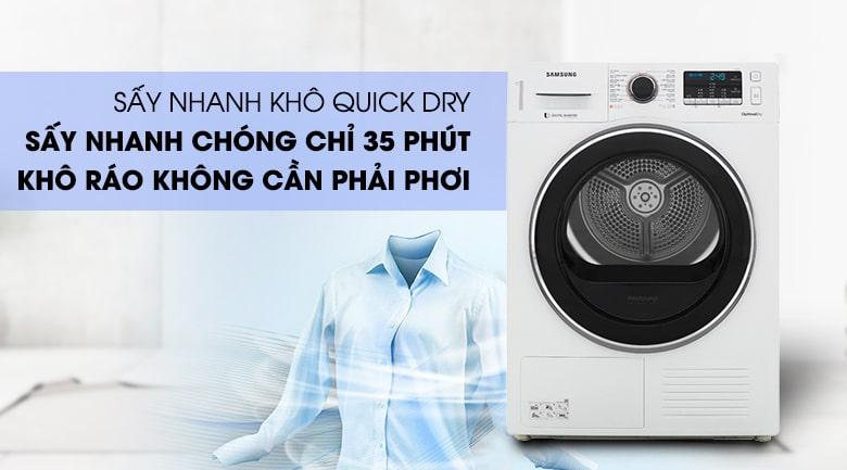Tác dụng của máy sấy quần áo
