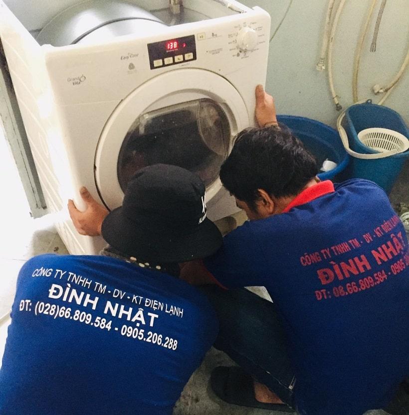 Sửa máy sấy quần áo quận Gò Vấp